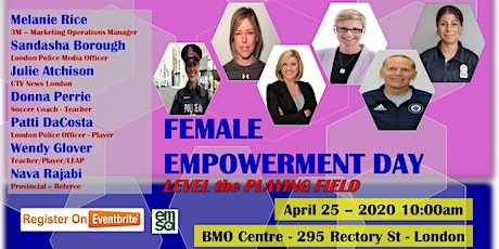 EMSA Female Empowerment Day Level the Playing Field tickets
