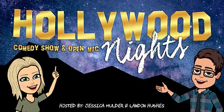 Hollywood Nights Comedy Show & Open Mic tickets
