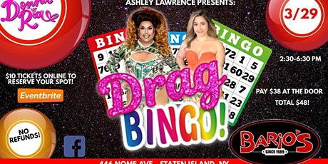 Drag queen bingo fundraiser tickets