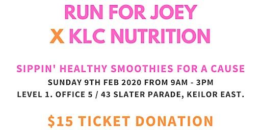 RUN FOR JOEY x KLC NUTRITION