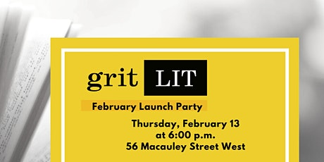 gritLIT Launch Party tickets