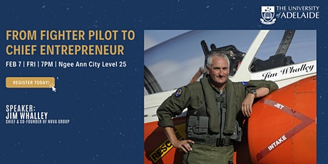 From Fighter Pilot to Chief Entrepreneur tickets