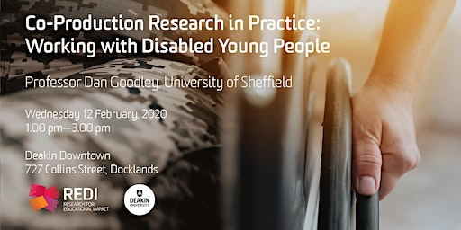 Co-Production Research in Practice: Working with Disabled Young People