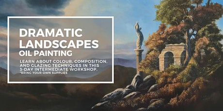 Painting a Dramatic Landscape in Oil tickets