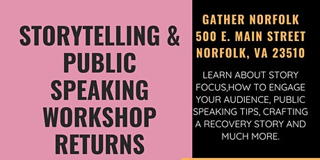 Storytelling & Public Speaking Workshop tickets