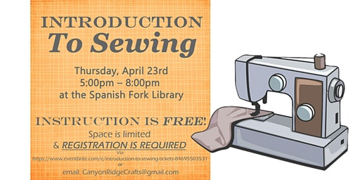 Introduction to Sewing