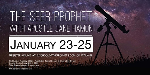 The Seer Prophet with Apostle Jane Hamon