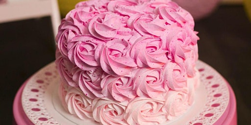 Adult Cake Decorating - How to: Buttercream Rosette Cake