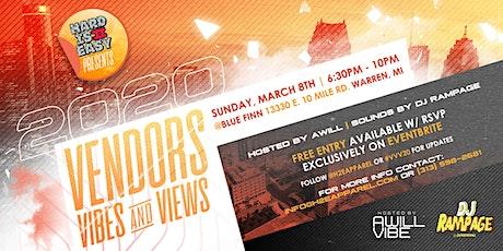 VENDORS, VIBES & VIEWS tickets