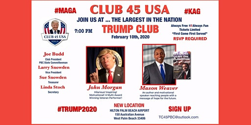 Club 45 USA February 10 Meeting