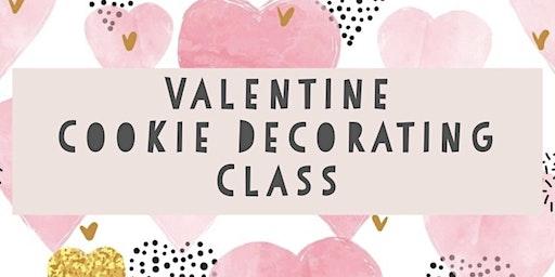 Valentine Cookie  Class