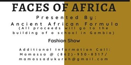 Face of Africa Fashion Show tickets