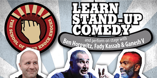 Learn stand-up comedy in Sydney this March with Fady Kassab