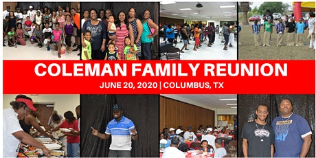 2020 Coleman's Family Reunion tickets