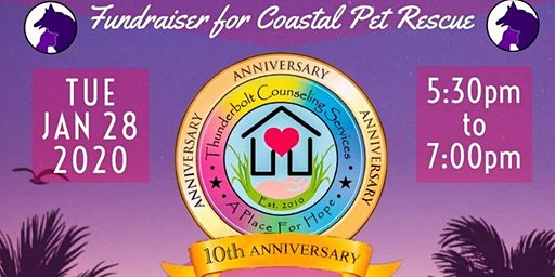 Thunderbolt Counseling Ribbon Cutting with Coastal Pet Rescue