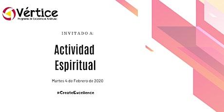 Actividad Espiritual (4 de Febrero) boletos