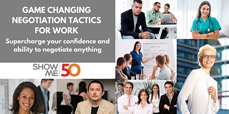 ShowMe50: Negotiation Workshop & Networking tickets