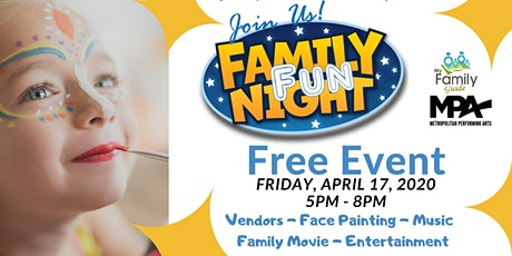 Family Fun Night tickets