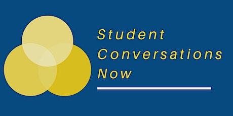 Student Conversations Now Engagement Workshops Pilot tickets
