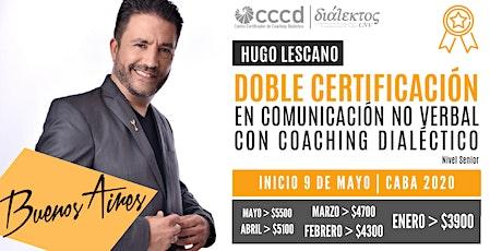 Doble Certificación en Comunicación No Verbal con Coaching Dialéctico  CABA entradas