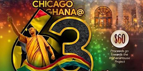 """""""Forward Ever; Backwards Never"""" 63rd  Ghana Independence Dinner Celebration tickets"""