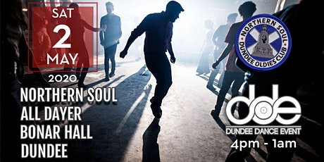 Dundee Oldies Club & DDE presents a Northern Soul All Dayer tickets
