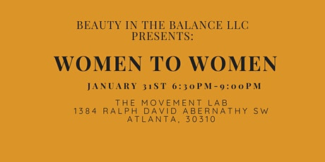 Women to Women tickets