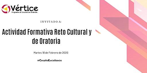 Actividad Formativa: Reto Cultural y de Oratoria (18 de Febrero)