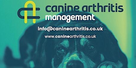 Canine Arthritis Management Owner Workshop Hawkes Bay tickets