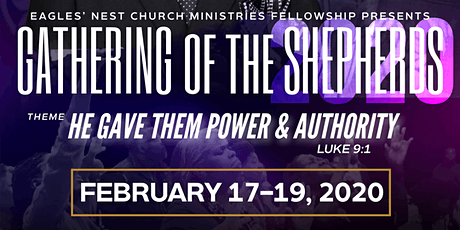 Gathering of the Shepherds: Pastors and Leadership Conference 2020 tickets