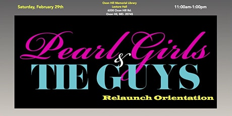 P.E.A.R.L. Girls & T.I.E. Guys Orientation (Relaunch) tickets