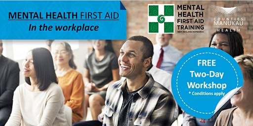 Thursday 26th & Friday 27th March- Mental Health First Aid in the Workplace (2-Day Workshop)