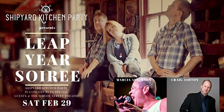 Leap Year Soiree - SKP in Concert with Craig Ashton and Marcia Alderson tickets