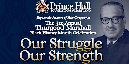 Thurgood Marshall Black History Month Celebration