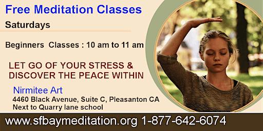 Free Meditation Classes in Pleasanton CA