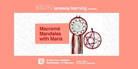 Macramé Mandalas with Maria tickets