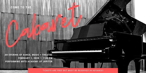 EXTRA SHOW: Come To The Cabaret: An Evening of Dance, Music + Theatre