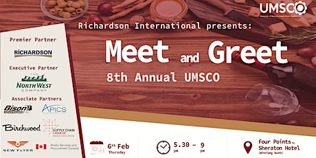 8th Annual UMSCO Meet & Greet Presented by Richardson International tickets