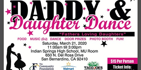 """Daddy & Daughter Dance - """"Fathers Loving Daughters""""  tickets"""