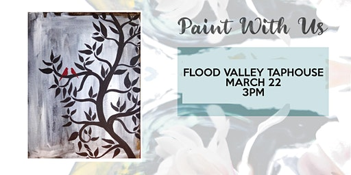 Sunday Funday paint and sip at Flood Valley Taphouse