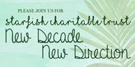 Starfish - New Decade New Direction - welcome lunch tickets