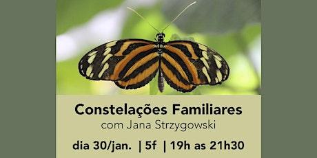 Constelações Familiares com Jana Strzygowski ingressos