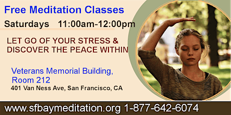 Free Meditation Classes in San Francisco, CA tickets