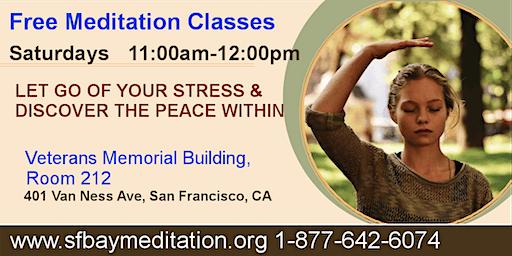 Free Meditation Classes in San Francisco, CA