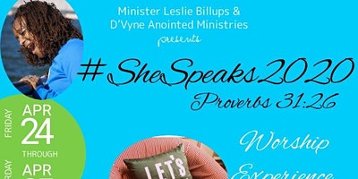 #SheSpeaks Women's Conference 2020