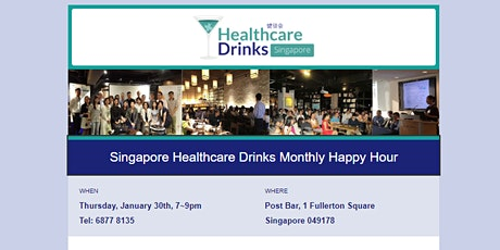 Singapore Healthcare Drinks Monthly Happy Hour tickets