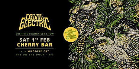 Devil Electric Bushfire fundraiser tickets