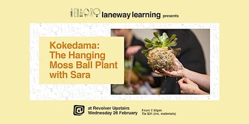 Kokedama: The Hanging Moss Ball Plant with Sara