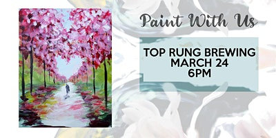 Paint night party at Top Rung Brewing