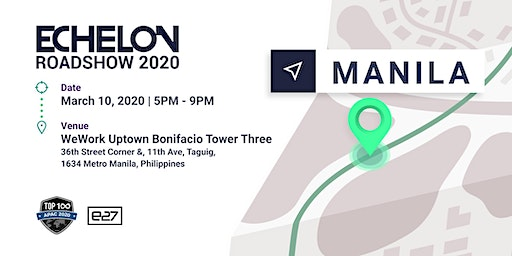 CANCELLED: Echelon Roadshow 2020: Manila